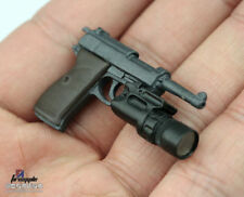 """1//6 Scale Weapons Accessories WWII Walther P38 With Holster F 12/"""" Action Figure"""