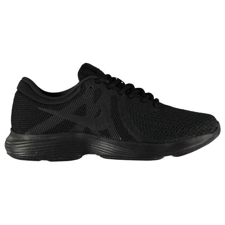 Nike Femme REVOLUTION 4 formateurs, Nike Femmes Chaussures De Course-Noir-Taille 3-8