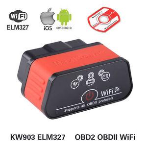 elm327 wifi kw903 obd2 ii diagnoseger t auto scanner f r. Black Bedroom Furniture Sets. Home Design Ideas