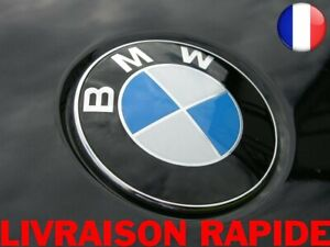 Remplacement-Embleme-Capot-Avant-Bleu-blanc-Voiture-82-mm-Logo-Autocollant-Bmw