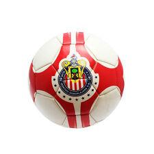 Chivas De Guadalajara Soccer Ball Size 5 Red/White