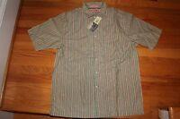 Daniel Cremieux Large Button Down Ss Multi Retail $48.00