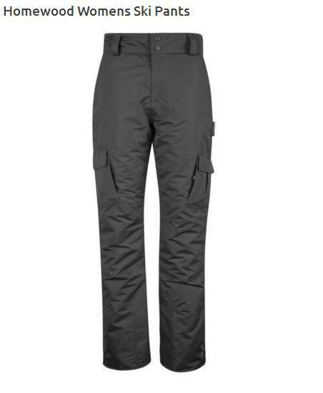 NEW Womens Mountain Warehouse Ski Trousers Salopettes 18 Grey Plain RRP .99