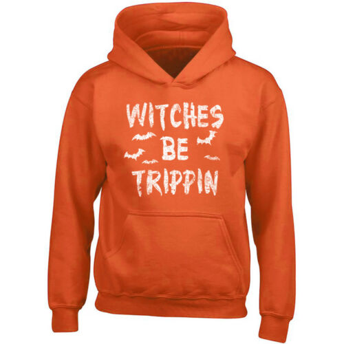 Witches Be Trippin HOODIE Witches Halloween Costume Sweatshirt Boo Sweatshirt