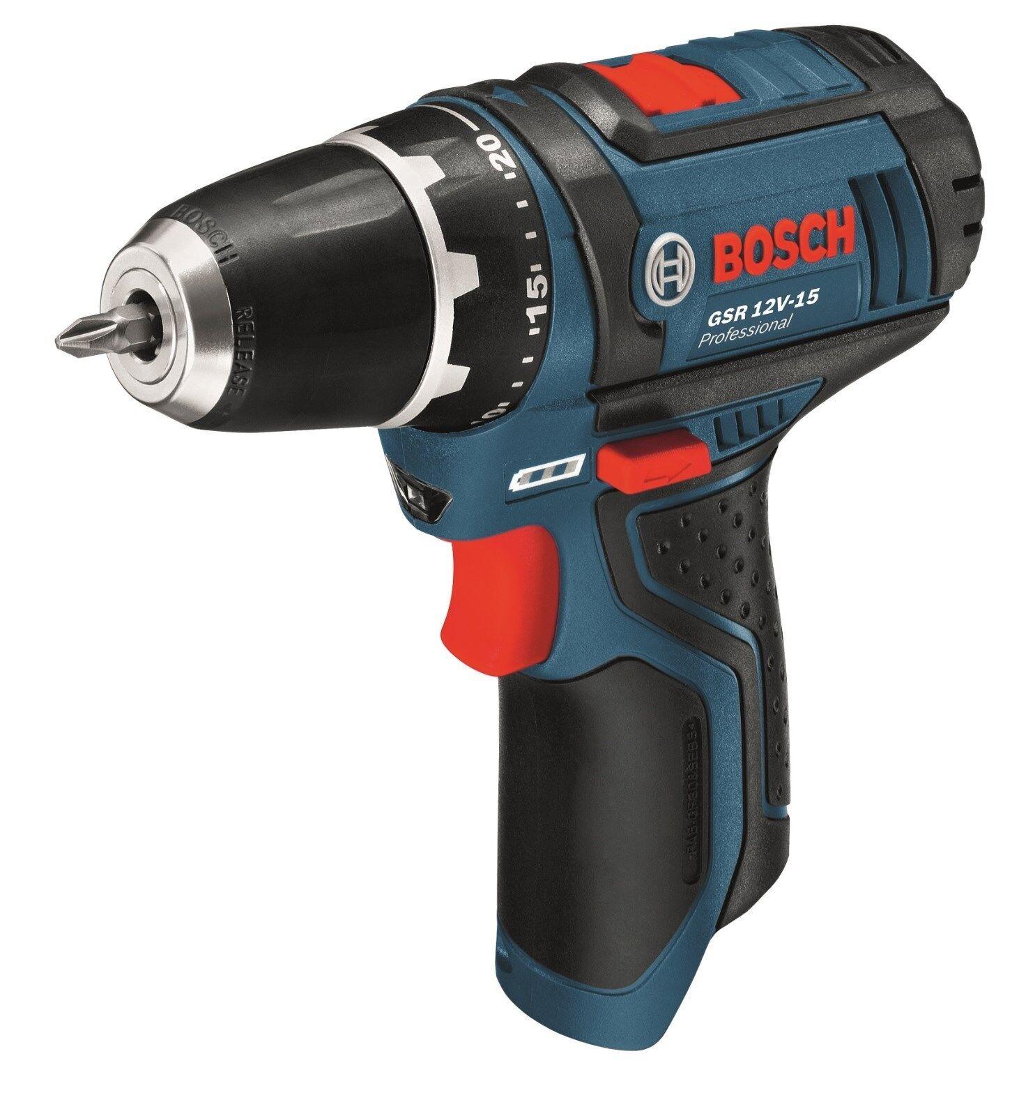 Bosch Akkuschrauber GSR 12V-15   10,8-2-LI ohne Akku ohne Ladegerät