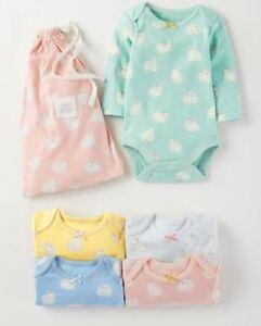 Baby Bodysuit//Babygrow Vest 100/% Cotton White Long Sleeve Multipack 0-3-6-9-12 PACK OF 3 9-12