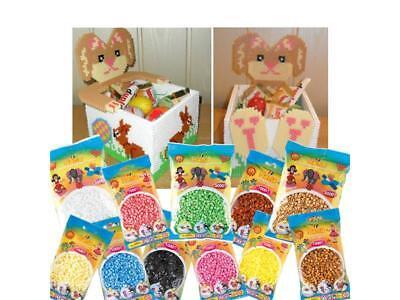 Oster-Set Angebot mit Vorlage Bügelperlen Preisvorteil Beads Steckperlen Hama