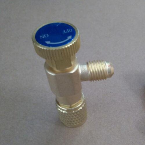 1//4/'/'-5//16/'/' Durable Copper Flow Control Valve Refrigerant Charge Hose r410 r32