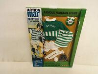 Vintage Action Man 40th Celtic Football Kit Boxed Mint (am124)
