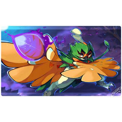 Pokemon Custom Playmat Decidueye Rowlet Pokemon TCG CCG Play Mat Free Best Tube