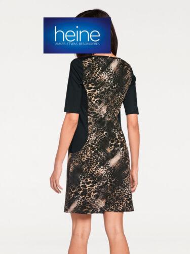 NEU!! ASHLEY BROOKE by Heine Jerseykleid mit Animalprint KP 69,90 € SALE/%/%/%