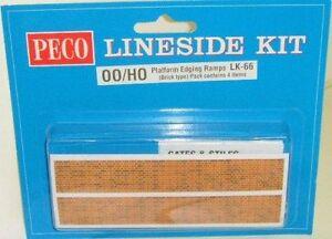 Peco-00-LK-66-Platform-Ramp-Edging-Kit-Brick-00-Model-Railway