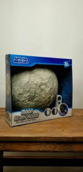 Uncle Milton Moon In My Room Educational Night Light Remote Control For Sale Online Ebay