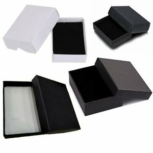 Details About Bulk Paper Jewelry Case Packing Gift Boxes For Ring Earrings Necklace Bracelet