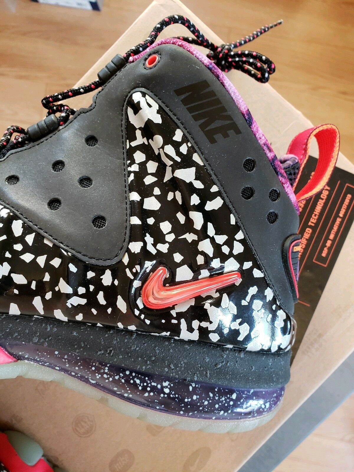 best service 91f88 8a9ee ... Nike Air BARKLEY POSITE MAX PREMIUM 1 QS AREA 72 72 72 ALL-STAR BLACK  ...