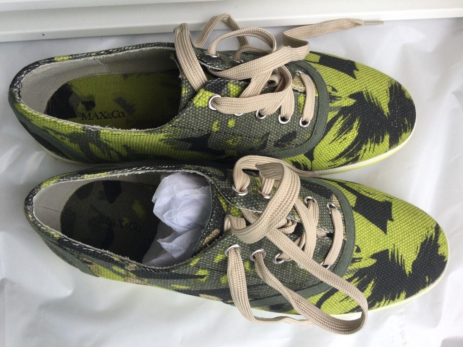MAX&Co. scarpe Woman verde fantasy Coloreee, Dimensione  41  Scarpe Donna fantasia verde