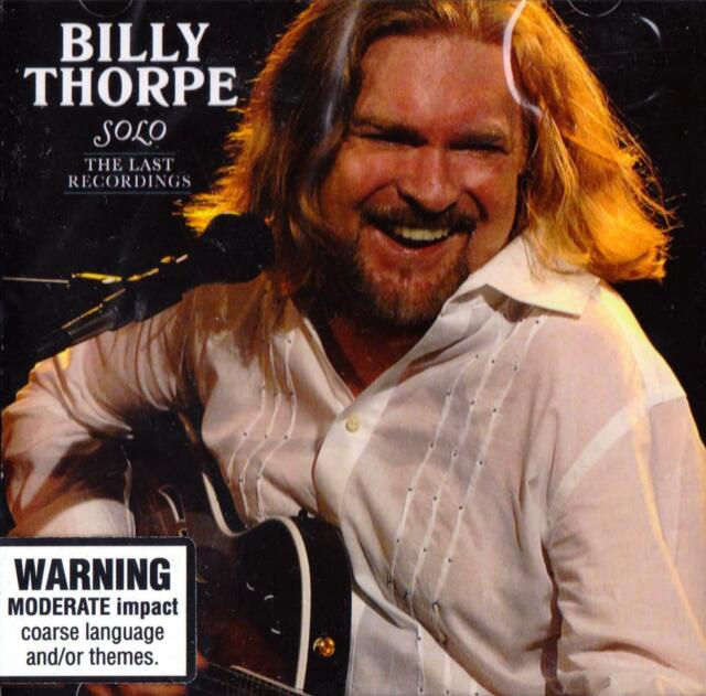 Billy Thorpe-Solo: The Last Recordings 2007 (2 Discs) 2007 Liberation Music NEW