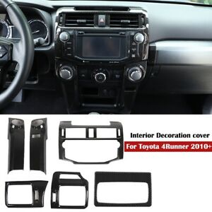 Dashboard Interior Mouldings Trim Cover Kit Accessories For Toyota 4Runner 2010+