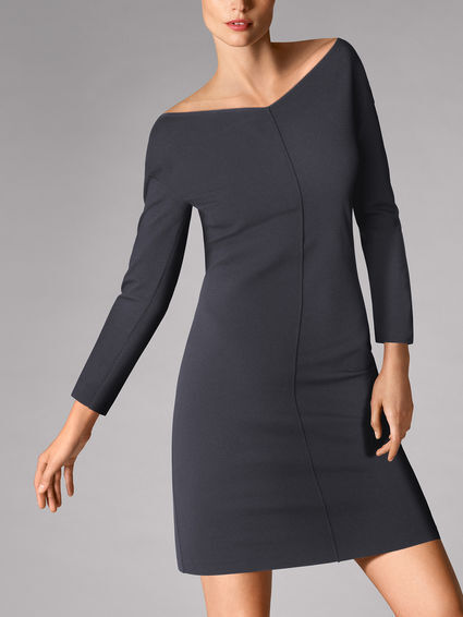 NEW Wolford BAILY DRESS Graphit Grey 36 USA 6 38 USA 8