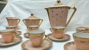 Service à thé-Rose