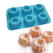 MINI Bundt Donut Chocolate Jello Cake Bakeware Magical Dessert Silicone Mold Pan