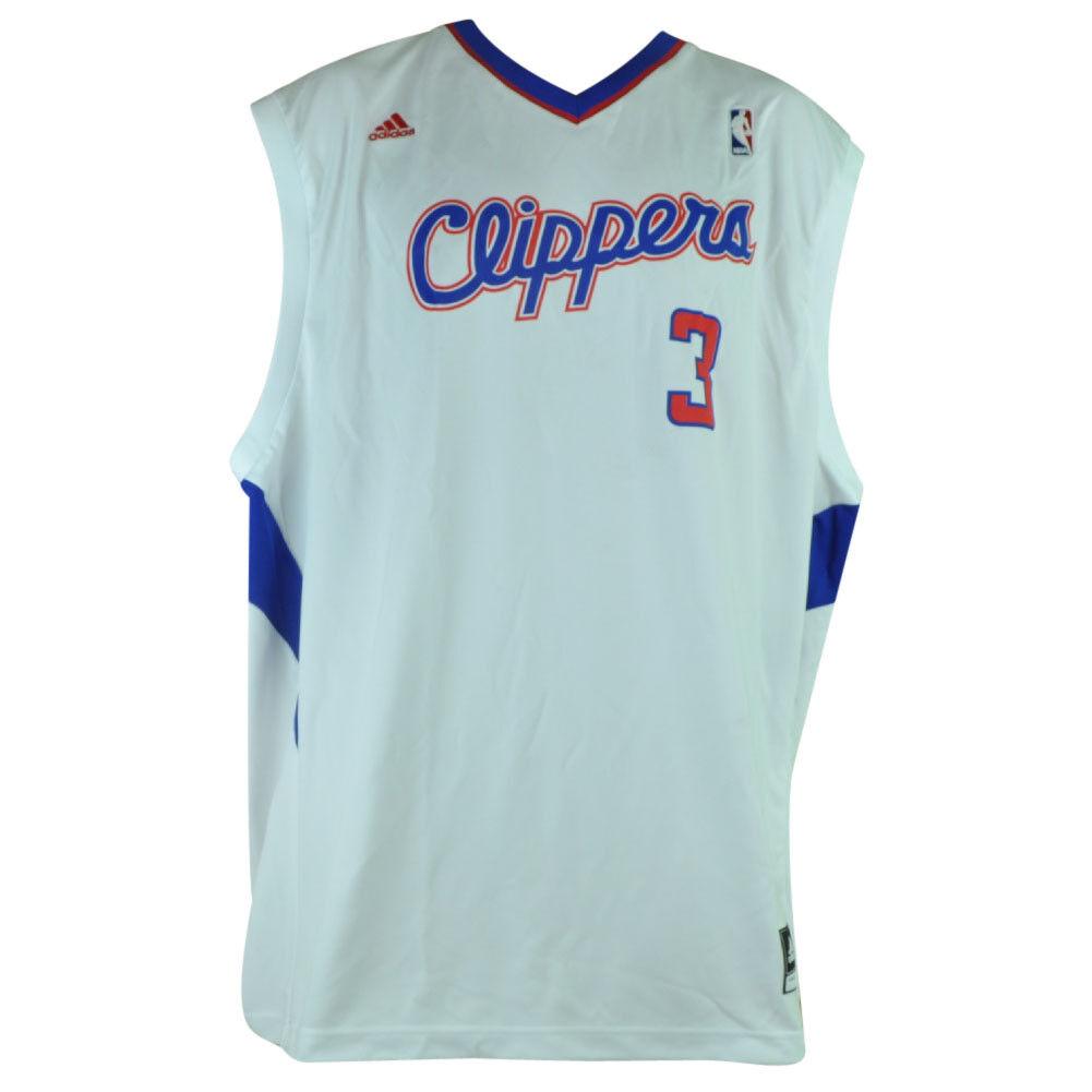 NBA Los Angeles Clippers La 105 pro 3 3 3 Chris Paul Trikot 2XLarge XXL Weißes d4149b