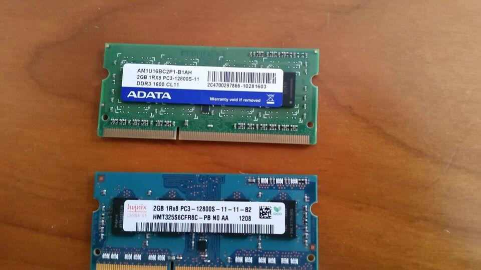 Adata, 4 GB, DDR3 SDRAM