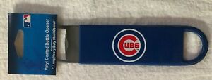 MLB-Chicago-Cubs-Baseball-7-Steel-Vinyl-Coated-Bottle-Opener-NEW