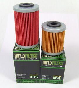 Olfilter-Satz-HIFLO-HF-155-und-HF-651-fuer-KTM-690-Enduro-R-ab-2012