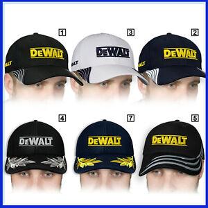 DeWalt-3D-Brode-Logo-Baseball-Cap-Homme-Chapeau-Outils-Instruments-Accessoires