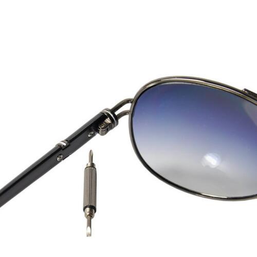 3in1 Mini Screwdriver Tool Repairset Schlüsselanhänger für Uhren Brillen Handy