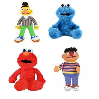 597324c586 Sesamstraße Plüschfigur Handpuppe Ernie Bert Cookie Monster Elmo plush NEU  NEW   eBay