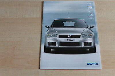 79801) Fiat Stilo Prospekt 01/2004