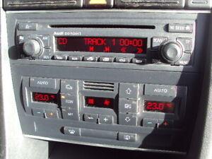 Audi A4 B6 18t S Line Concert Radio Cd Player Stereo Head Unit No