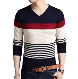 Camisa-De-Hombre-Sueter-Casual-Moda-Ropa-De-Hombres-Pulover-Sueteres-Camisas-New
