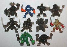 Moose Fistful of Power Mini Action Figure Lot #14 of 10x Figures