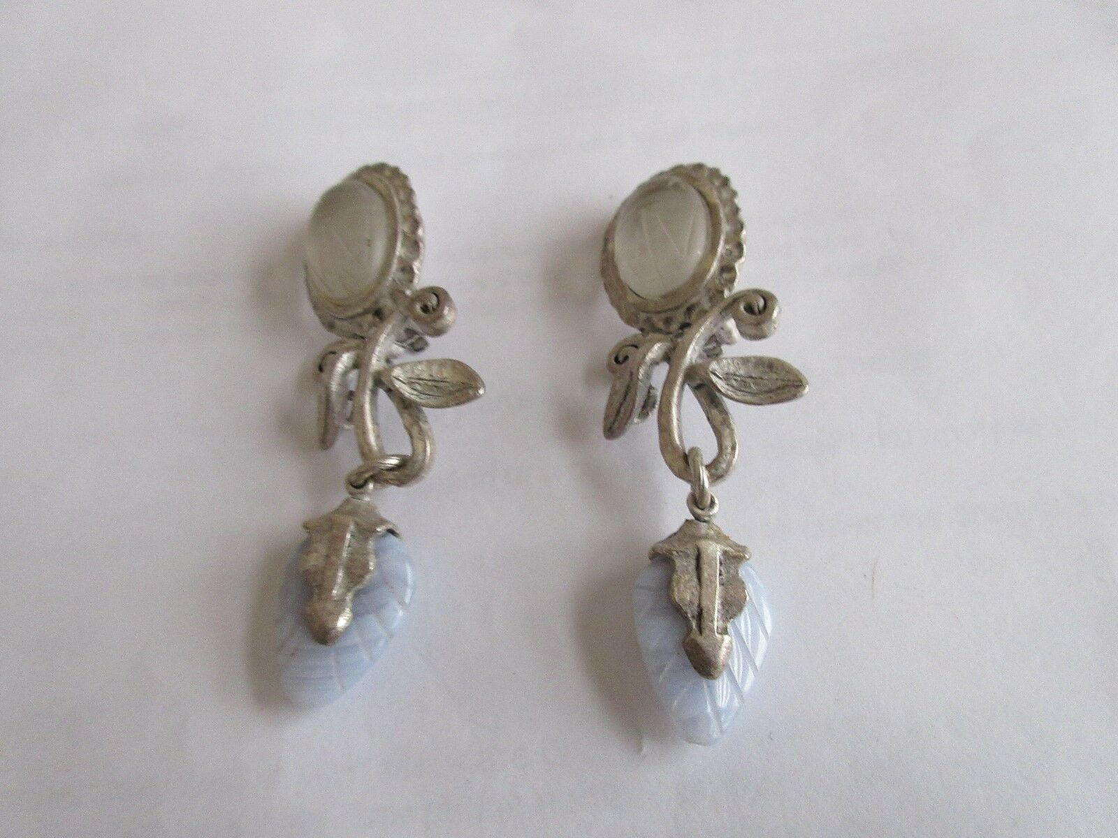 Earrings , Clip-On , Ladies , Vintage , Unique Design