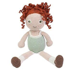 Sebra Hanna Crochet Poupée 40 Cm Travail Manuel Jouet Tricot Lavable