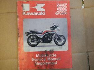 1983 83 1984 84 kawasaki zr400 zr500 zr550 400 500 550 service rh ebay com