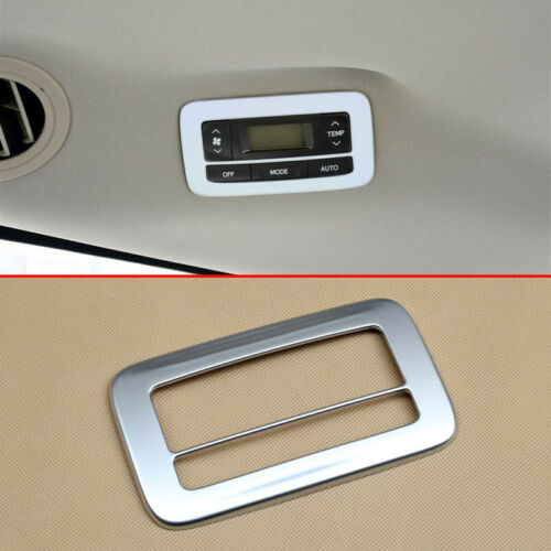For Toyota Sienna 2011-2019 Rear Air Condition Switch Control Panel Cover Trims