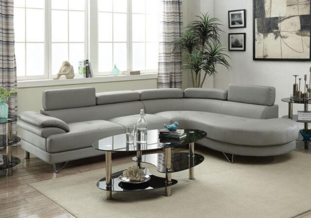 Espresso Faux Leather Sofa