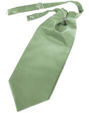 New Mens Satin Cravat Tie Victorian Dickens Cutaway Wedding TUXXMAN All Colors