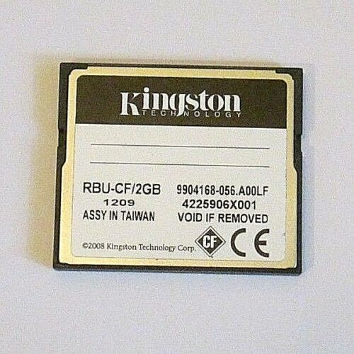 LOT OF 10 NEW CARD Kingston 2GB Compact Flash CF FORMATTED WARRANTED