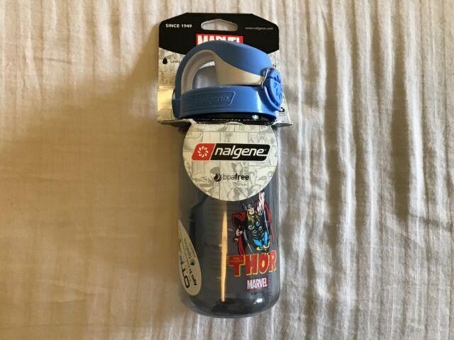 OTF Kids BPA-Free Water Bottle Nalgene Marvel 12oz On The Fly