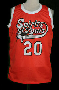 newest db5e9 1c2a4 Details about MAURICE LUCAS ST. LOUIS RETRO ABA BASKETBALL JERSEY SEWN NEW  ANY SIZE