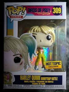 Funko Pop Birds Of Prey Harley Quinn Boobytrap Battle 309 Hot Topic Ebay