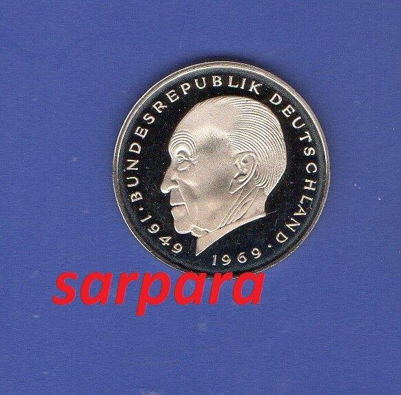 2 DM  Adenauer  F  PP  Sie Wählen ab 1969- bis 1987- ab 5 auktionen portofrei
