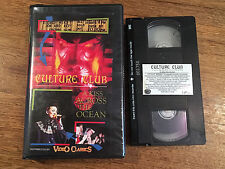 CULTURE CLUB - A Kiss Across The Ocean. Australian VHS Video Cassette