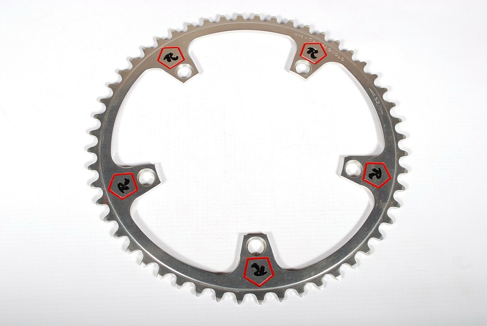 Vintage Campagnolo Super Record  Bicycle Chainring Rossin Pantographed 144BCD 52T  wholesale cheap and high quality