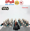 thumbnail 6 - 21pcs lot STAR WARS Clone Trooper Commander Fox Rex Mini toy building block